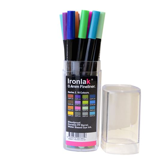 Picture of Ironlak Markers 0.4mm Fineliner Set Series 2