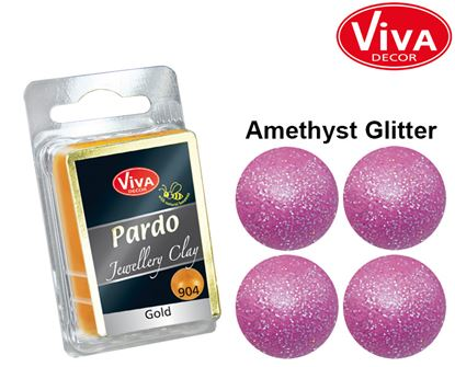 Picture of Viva Pardo glitter Clay