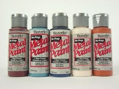 Picture of Decoart Non-Prep Metal paint