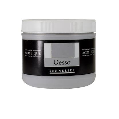 Picture of Sennelier Light Grey Gesso