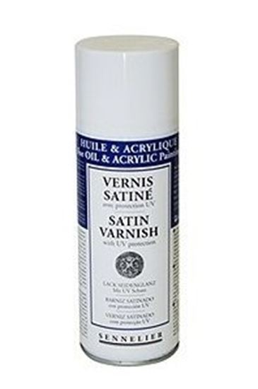 Picture of Sennelier Satin Varnish with UVLS