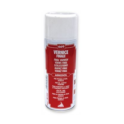 Picture of Maimeri Spray Varnish for Oil & Acrylic 669