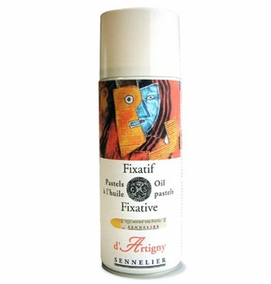 Picture of Sennelier Oil Pastel fixative Spray