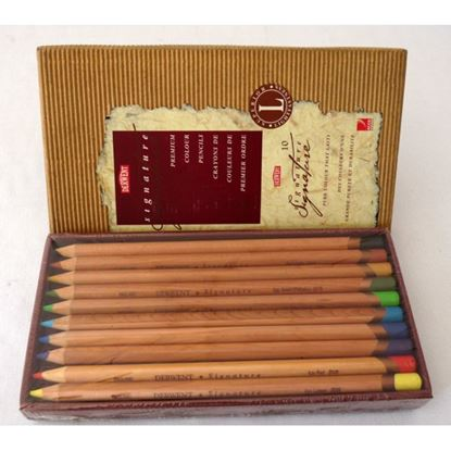Picture of Derwent Colored Pencil Signature 10pcs