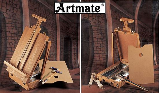 Picture of Artmate Wooden Top Table Easel HBX-5