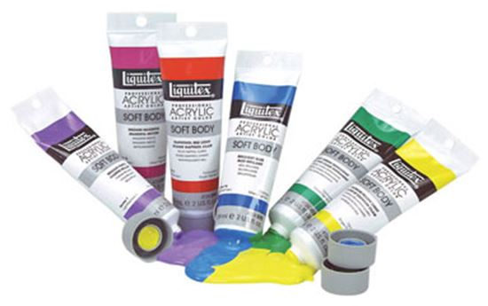 Picture of Liquitex Soft Body Acrylic