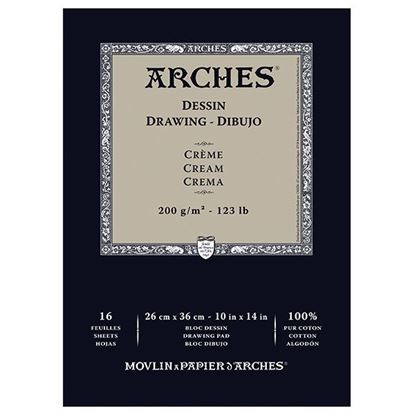 Picture of Canson Arches Drawing - Dibujo Cream 123lb 200gsm