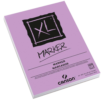 Picture of Canson XL Binded Edge Sketch Pad (Violet) 70g