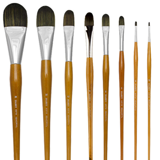 Picture of ISABEY Isacryl Filbert Acrylic Brush