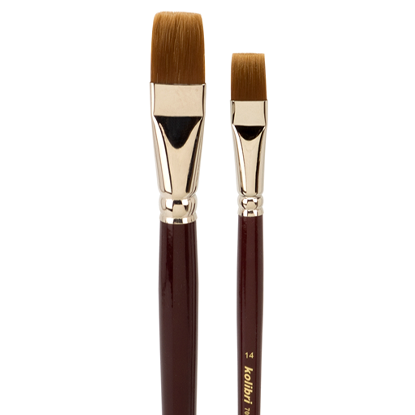 "Picture of Kolibri Bright Acrylic Brush ""Short Handles""  708"