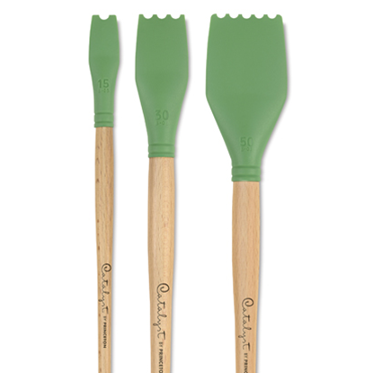Picture of Princeton SILICONE BLADE NO. 3 – GREEN •