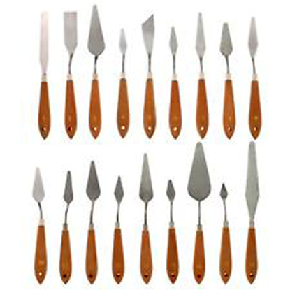 Picture of Artmate Stainless Palette Knives