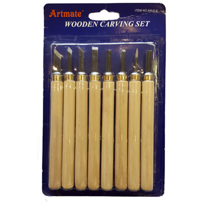 Picture of Artmate Wooden Carving Set