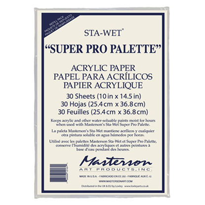 Picture of Masterson Super Pro Acrylic Paper