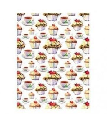 Picture of Cadence Rice decoupage paper M.075