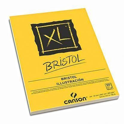 Picture of Canson  PAD XL®  BRISTOL  180G WHITE - 50 Sheet