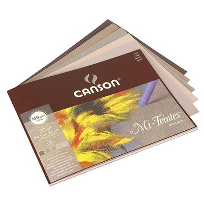 Picture of Canson Mi-Teintes 160gsm pastel paper pad