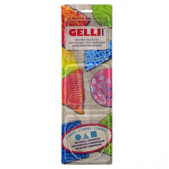 Picture of Gelli Arts Gel Printing Plate Set 1