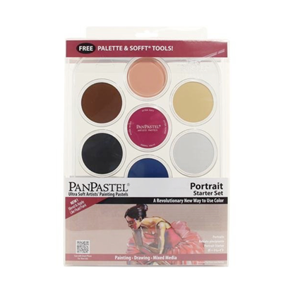 Picture of Pan Pastel Portrait Starter set