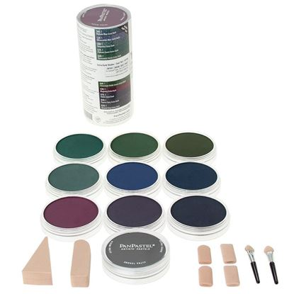 Picture of Pan Pastel Extra Darks Cool set of 10