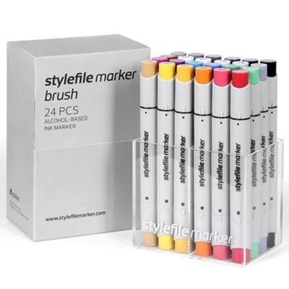 Picture of Stylefile Marker Brush 24 pcs Main A set