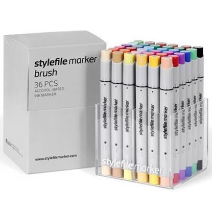 Picture of Stylefile Marker Brush 36 pcs Main A set