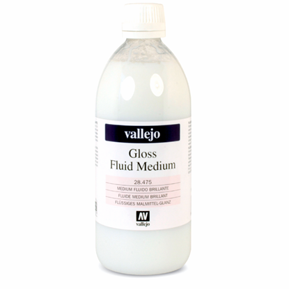 Picture of Vallejo FLUID GLOSS MEDIUM  475, 500ml