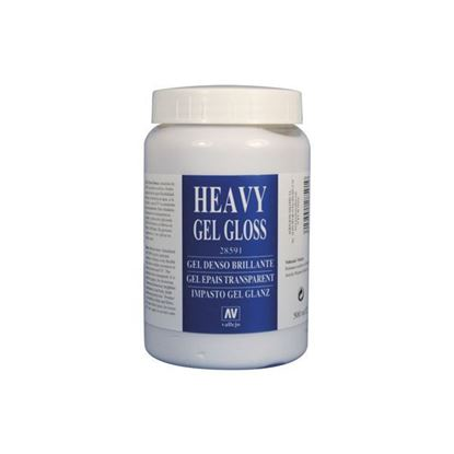 Picture of Vallejo HEAVY GEL GLOSS . 591 - 500 ml