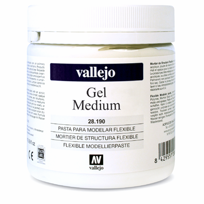 Picture of Vallejo ARTIST ACRYLIC GEL MEDIUM . 592 - 250ml