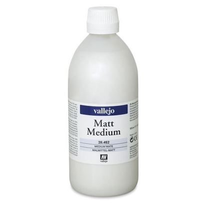 Picture of Vallejo MATT MEDIUM . 452 - 500ml