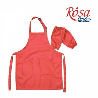 Picture of Rosa Apron for Children, RED