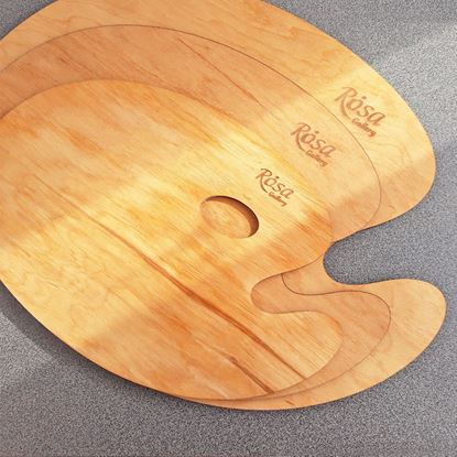 Picture of Rosa Oval Oiled Palette 25x35cm