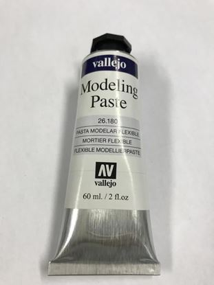 Vallejo FLEXIBLE MODELING PASTE . 180 - 60ml . Tube