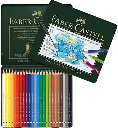 Faber Castell WaterColor Pencils - 24
