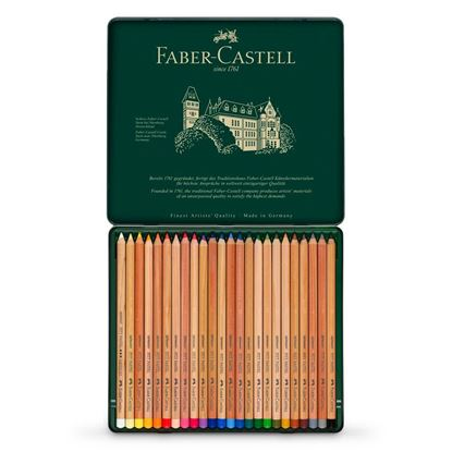 Faber Castell - PITT PASTEL PENCILS SET OF 24 - FC112124
