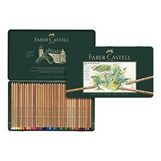 Faber Castell  - PITT PASTEL PENCILS SET OF 36 - FC112136