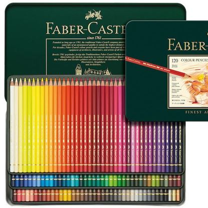 Faber Castell polychromos Pencils Tin -  Set 120