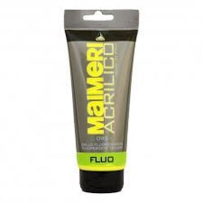 MAIMERI  ACRYLIC FLUORESCENT YELLOW .  200ML