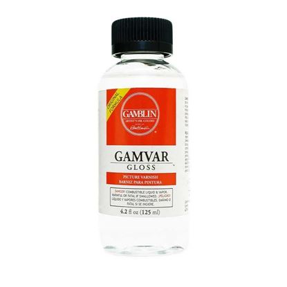 Gamblin  Gamvar Gloss - Gloss Varnish  4.2 fl oz - 125ml