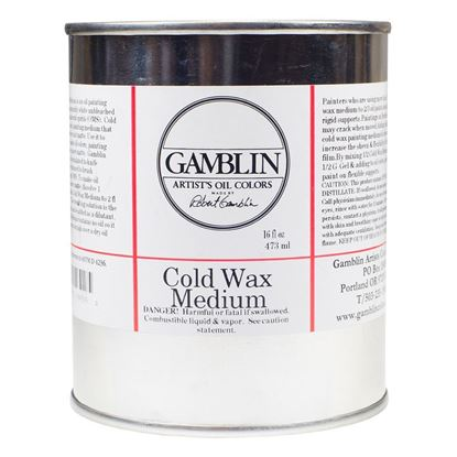 Gamblin Artist Color Cold Wax Medium 16 fl oz  - 500ml