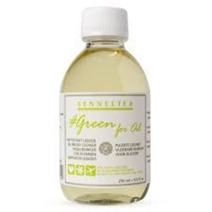 Sennelier Thinner100ml- GREEN FOR OIL