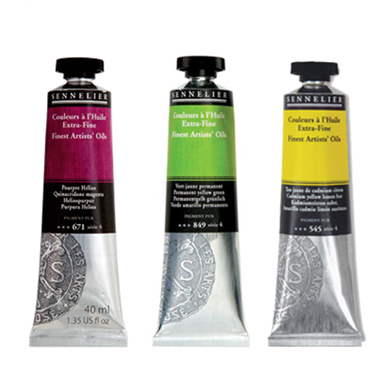 Picture of Sennelier Extra Fine Oil colors 40ml
