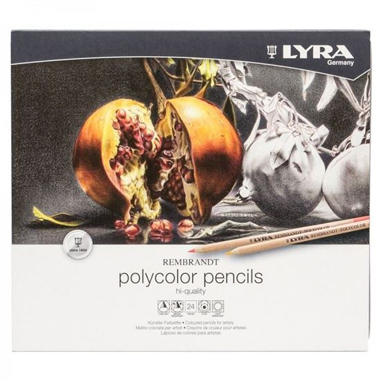 LYRA REMBR POLYCOLOR TIN BOX 24 PCS - 2001240